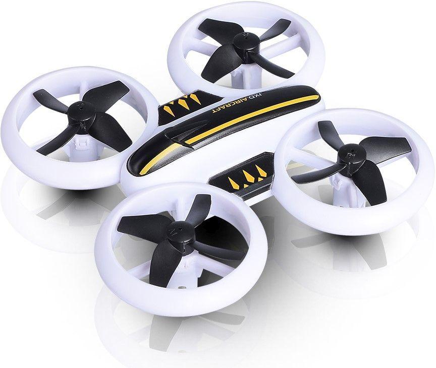 Квадрокоптер JXD Small Neon Drone без камеры,  белый [jxd-532]