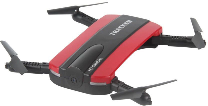 Квадрокоптер JXD Tracker с камерой,  черный [jxd-523]