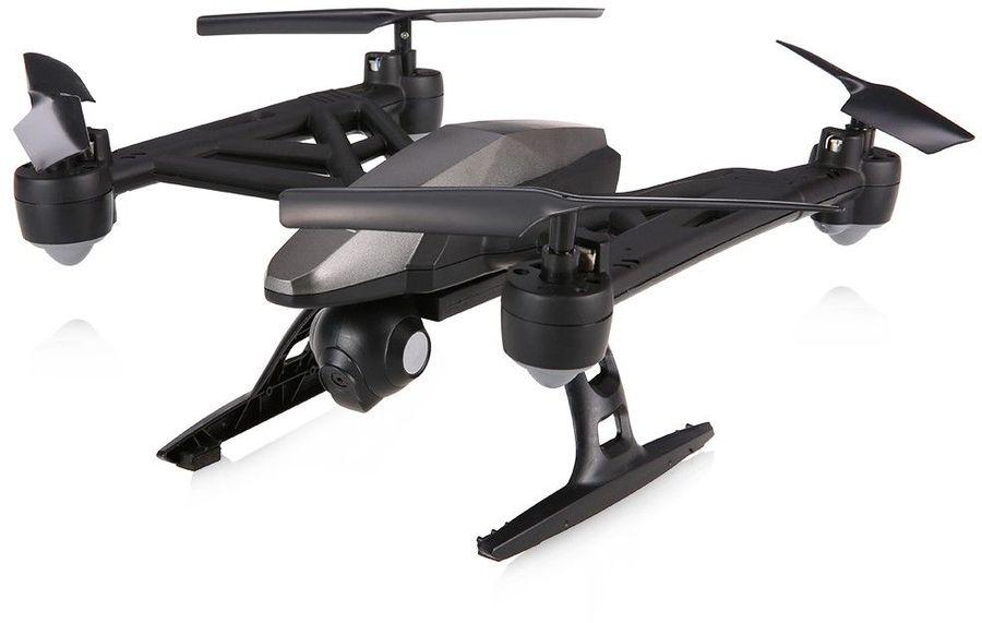 Квадрокоптер JXD 516W Predator FPV с камерой,  черный [jxd-516w]