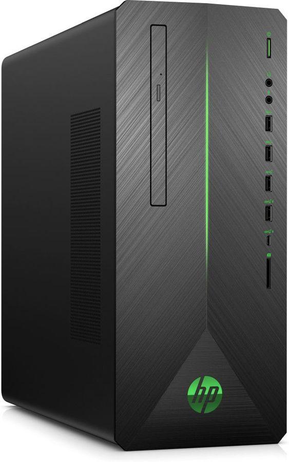 Компьютер  HP Pavilion 790-0000ur,  Intel  Core i5  8400,  DDR4 16Гб, 1000Гб,  128Гб(SSD),  NVIDIA GeForce GTX 1070 - 8192 Мб,  DVD-RW,  CR,  Windows 10,  черный [4dv18ea]