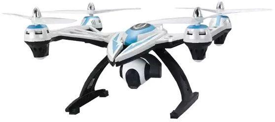 Квадрокоптер JXD Challenger с камерой,  белый [jxd-506v]
