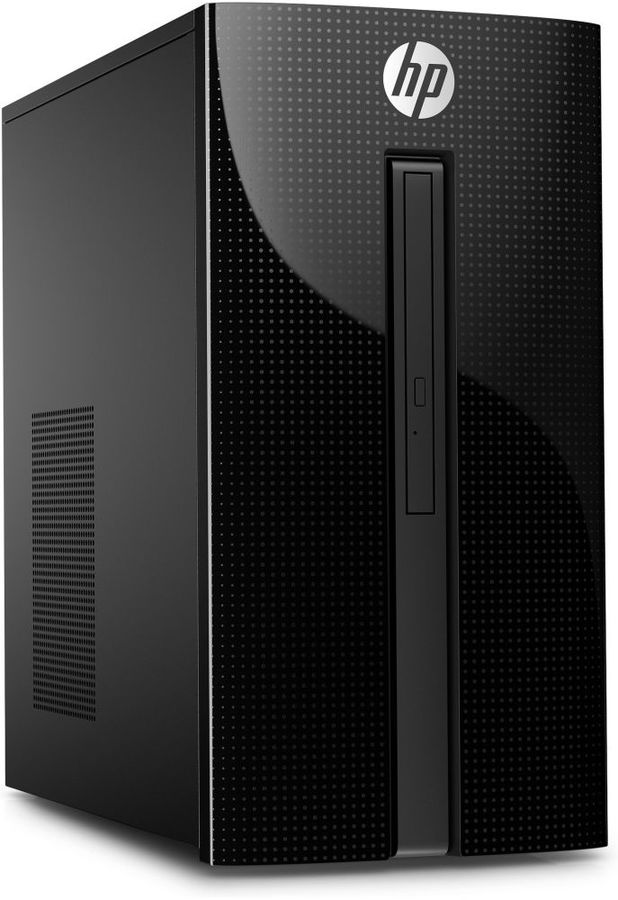 Компьютер  HP 460-a211ur,  Intel  Pentium Quad-Core  J3710,  DDR3L 8Гб, 1000Гб,  Intel HD Graphics,  DVD-RW,  Free DOS 2.0,  черный [4xl80ea]