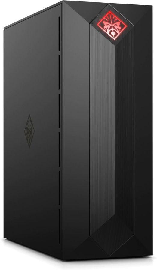 Компьютер  HP OMEN 875-0004ur,  Intel  Core i3  8100,  DDR4 8Гб, 1000Гб,  128Гб(SSD),  NVIDIA GeForce GTX 1050Ti - 4096 Мб,  CR,  Windows 10,  черный [4ug37ea]