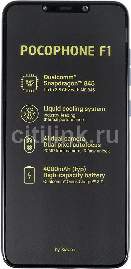 Смартфон XIAOMI Pocophone F1 64Gb,  синий