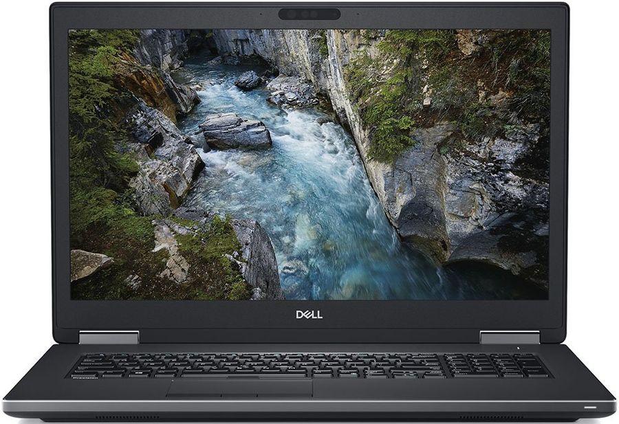 "Ноутбук DELL Precision 7730, 17.3"",  IPS, Intel  Core i7  8850H 2.6ГГц, 16Гб, 256Гб SSD,  nVidia Quadro  P3200 - 6144 Мб, Windows 10 Professional, 7730-6986,  черный"
