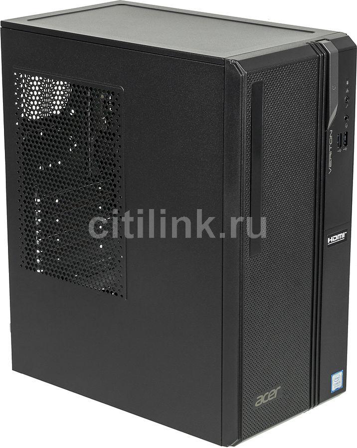Компьютер  ACER Veriton ES2730G,  Intel  Core i5  8400,  DDR4 4Гб, 256Гб(SSD),  Intel UHD Graphics 630,  Windows 10 Home,  черный [dt.vs2er.027]