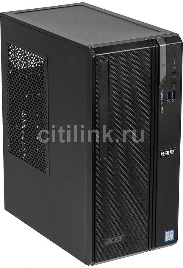Компьютер  ACER Veriton ES2730G,  Intel  Core i3  8100,  DDR4 8Гб, 128Гб(SSD),  Intel UHD Graphics 630,  Endless,  черный [dt.vs2er.017]