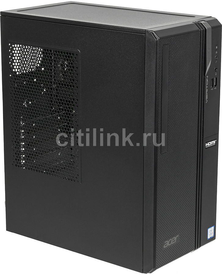 Компьютер  ACER Veriton ES2730G,  Intel  Core i3  8100,  DDR4 4Гб, 128Гб(SSD),  Intel UHD Graphics 630,  Windows 10 Home,  черный [dt.vs2er.009]