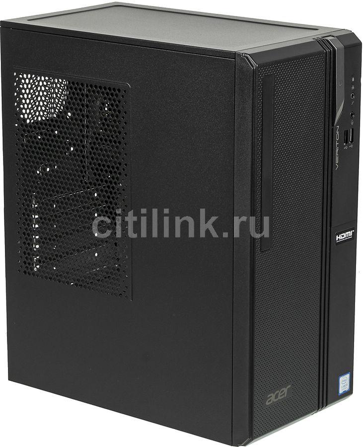 Компьютер  ACER Veriton ES2730G,  Intel  Core i5  8400,  DDR4 4Гб, 128Гб(SSD),  Intel UHD Graphics 630,  Endless,  черный [dt.vs2er.023]