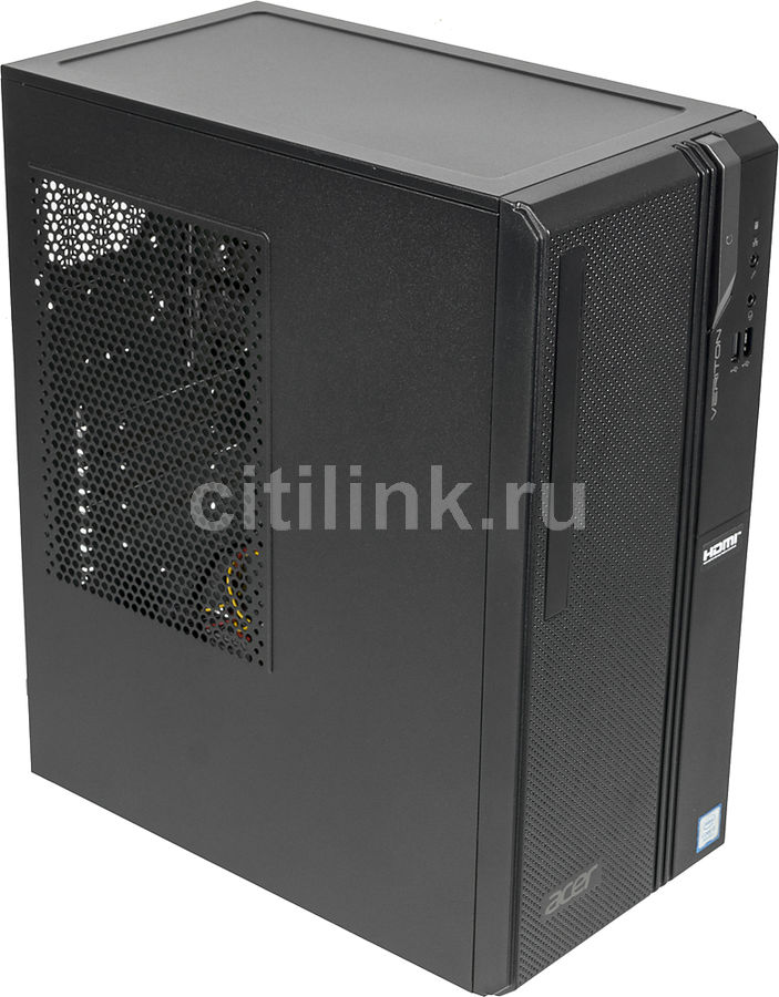 Компьютер  ACER Veriton ES2730G,  Intel  Core i3  8100,  DDR4 8Гб, 1000Гб,  Intel UHD Graphics 630,  Windows 10 Professional,  черный [dt.vs2er.014]