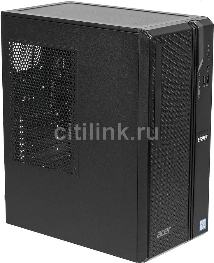 Компьютер  ACER Veriton ES2730G,  Intel  Core i3  8100,  DDR4 4Гб, 256Гб(SSD),  Intel UHD Graphics 630,  Windows 10 Home,  черный [dt.vs2er.012]