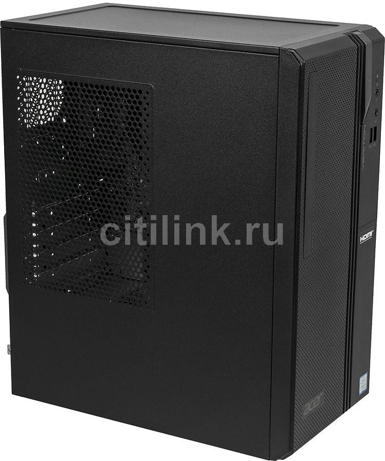 Компьютер  ACER Veriton ES2730G,  Intel  Core i3  8100,  DDR4 8Гб, 128Гб(SSD),  Intel UHD Graphics 630,  Windows 10 Home,  черный [dt.vs2er.018]