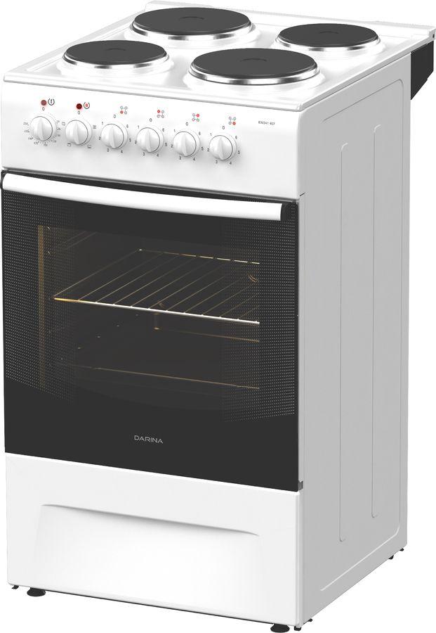 Электрическая плита DARINA 1F EM 241 419 W,  эмалированный металл,  белый [000054007]