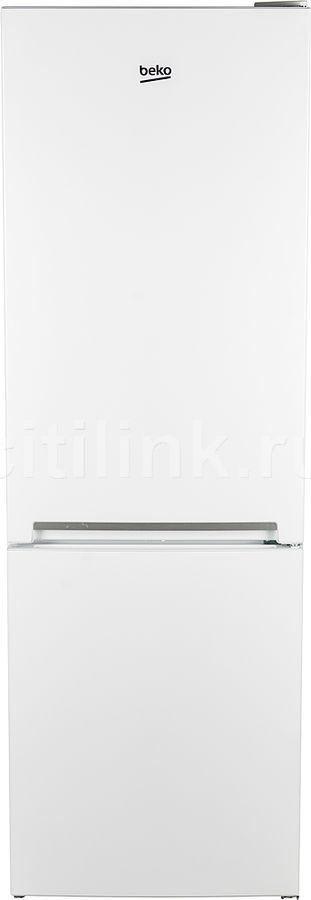 Холодильник BEKO RCSK270M20W,  двухкамерный, белый