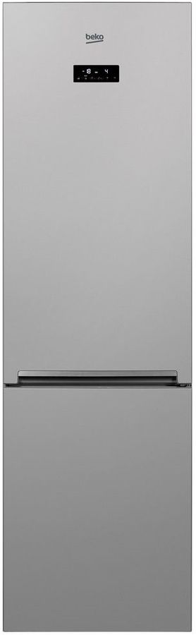 Холодильник BEKO CNKR5356EC0S,  двухкамерный, серебристый