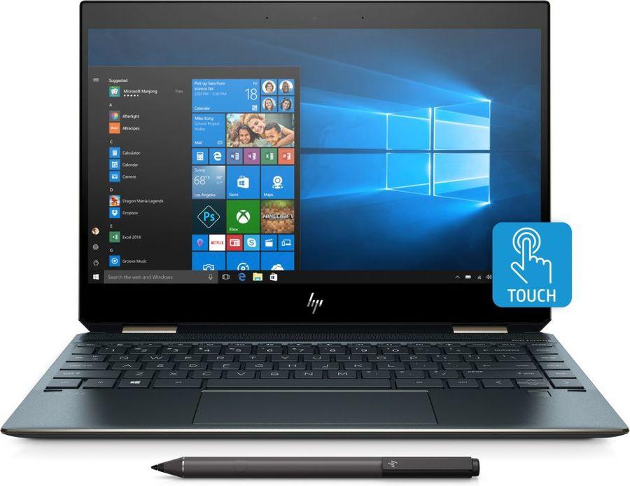 "Ультрабук-трансформер HP Spectre x360 13-ap0003ur, 13.3"",  IPS, Intel  Core i5  8265U 1.6ГГц, 8Гб, 256Гб SSD,  Intel UHD Graphics  620, Windows 10, 5MM85EA,  синий"
