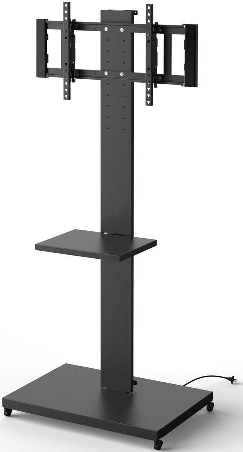 """Подставка для телевизора Holder PR-107 черный 32""""-70"""" макс.60кг напольный поворот и наклон"""