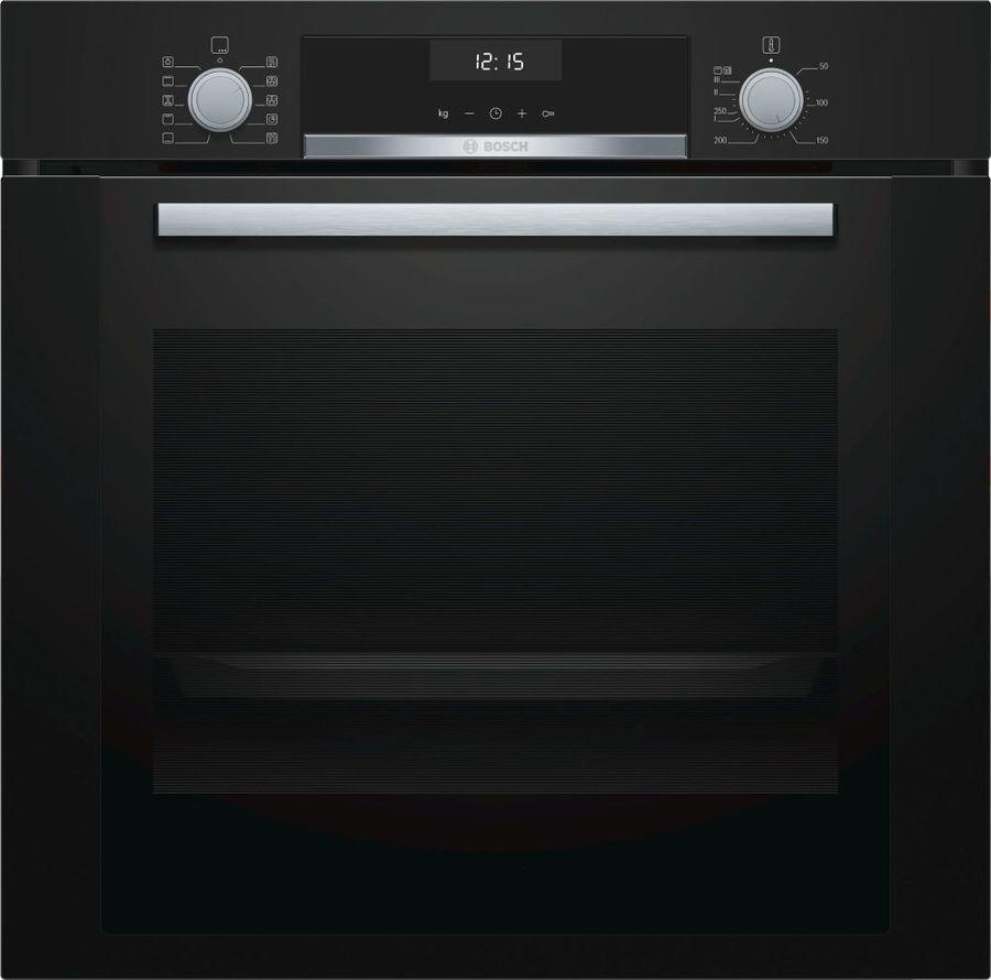 Духовой шкаф BOSCH HBG337BB0R,  черный