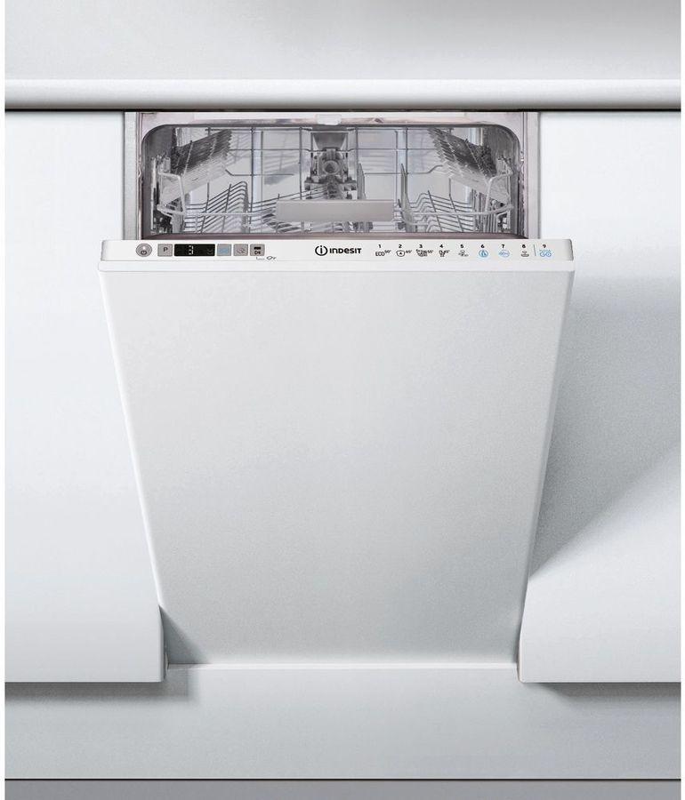 Посудомоечная машина узкая INDESIT DSIC 3T117 Z,  белый
