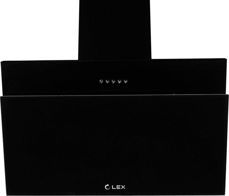 Вытяжка каминная Lex Luka 600 черный управление: кнопочное (1 мотор)