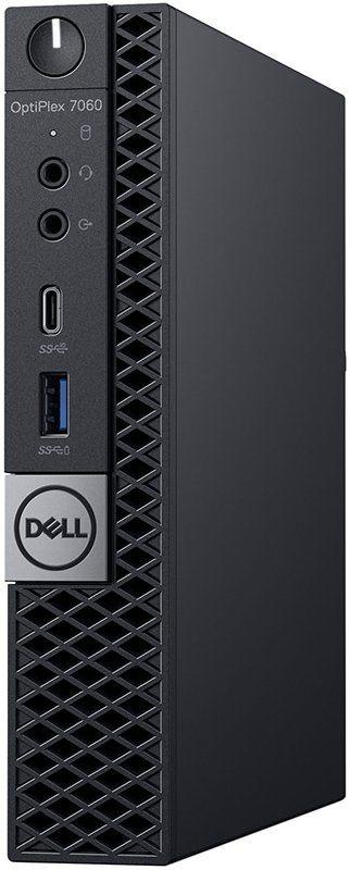 Компьютер  DELL Optiplex 7060,  Intel  Core i5  8500T,  DDR4 8Гб, 256Гб(SSD),  Intel UHD Graphics 630,  Linux,  черный [7060-7724]
