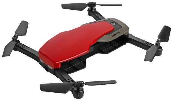 Квадрокоптер SKYMOTO SK-24 с камерой,  красный