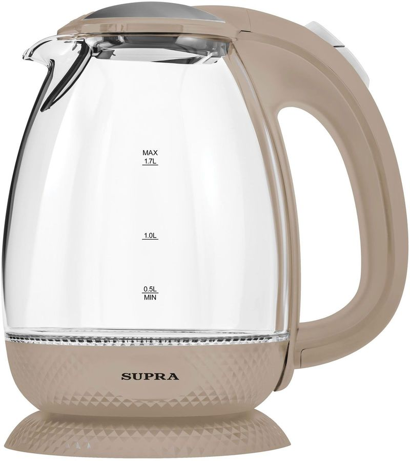 Чайник электрический SUPRA KES-2172, 2200Вт, бежевый