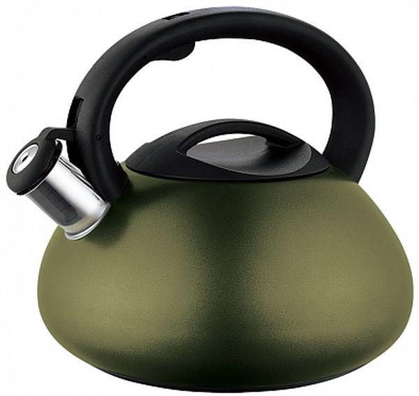 Металлический чайник ENDEVER 305,  3л,  зеленый [80481]