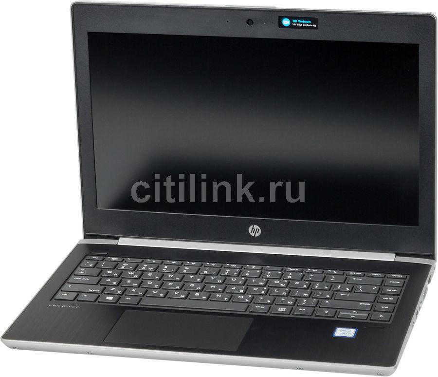 """Ноутбук HP ProBook 430 G5, 13.3"""",  Intel  Core i5  7200U 2.5ГГц, 4Гб, 500Гб,  Intel HD Graphics  620, Windows 10 Professional, 4WV23EA,  серебристый"""