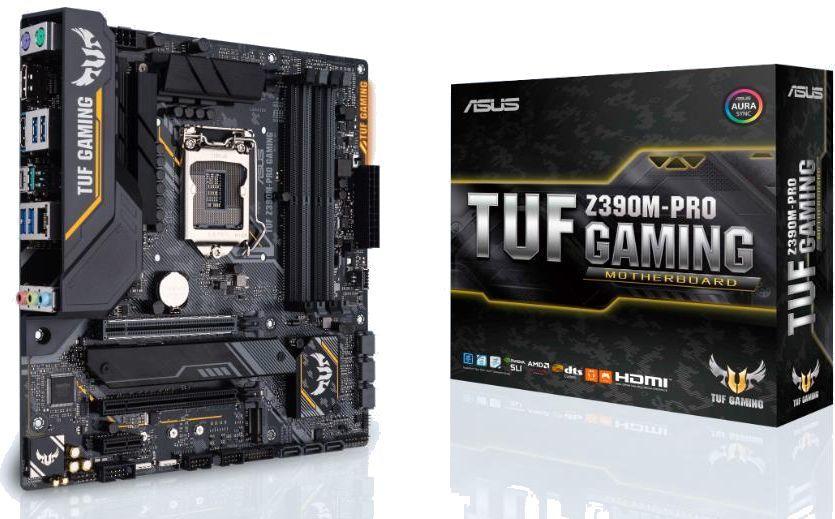 Материнская плата ASUS TUF Z390M-PRO GAMING, LGA 1151v2, Intel Z390, mATX, Ret