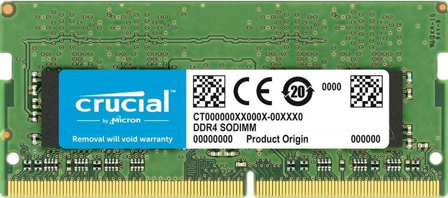 Модуль памяти CRUCIAL CT16G4SFD8266 DDR4 -  16Гб 2666, SO-DIMM,  Ret