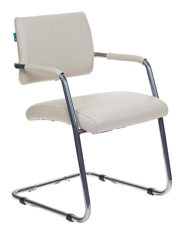 Кресло БЮРОКРАТ CH-271-V, на полозьях, искусственная кожа, светло-бежевый [ch-271-v/sl/or-12]