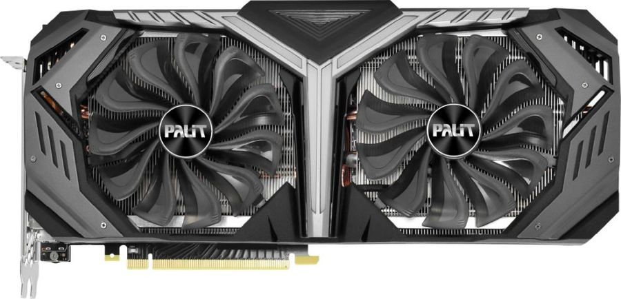 Видеокарта PALIT nVidia  GeForce RTX 2070 ,  PA-RTX2070 GAMEROCK PREMIUM 8G,  8Гб, GDDR6, Ret [ne62070h20p2-1061g]