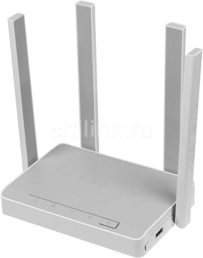 Беспроводной роутер KEENETIC Duo,  ADSL 2/2+,  белый [kn-2110]