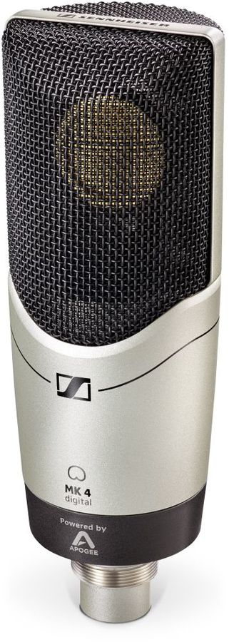 Микрофон SENNHEISER MK 4 digital,  серебристый [506972]
