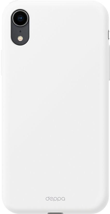 Чехол (клип-кейс) DEPPA Gel Color Case, для Apple iPhone XR, белый [85366]