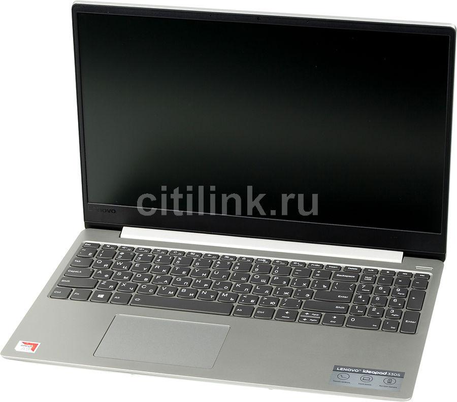 "Ноутбук LENOVO IdeaPad 330S-15AST, 15.6"",  AMD  A9  9425 3.1ГГц, 8Гб, 128Гб SSD,  AMD Radeon  R5, Windows 10, 81F9002FRU,  серый"