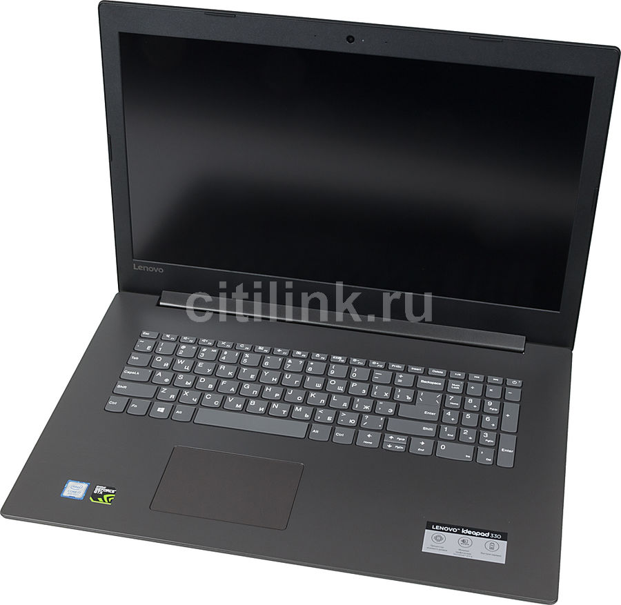 "Ноутбук LENOVO IdeaPad 330-17ICH, 17.3"",  IPS, Intel  Core i7  8750H 2.2ГГц, 8Гб, 1000Гб,  128Гб SSD,  nVidia GeForce  GTX 1050 - 2048 Мб, Free DOS, 81FL007JRU,  черный"
