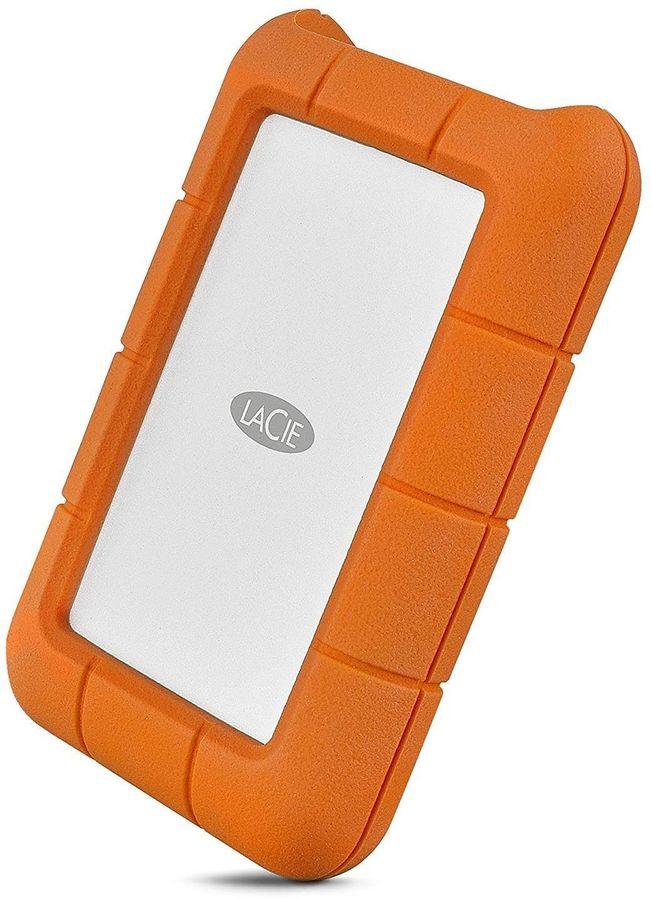 Внешний жесткий диск LACIE Rugged STFR4000800, 4Тб, оранжевый