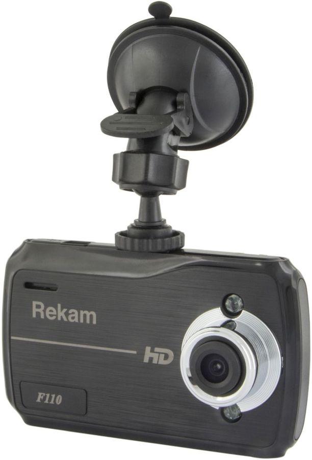 Видеорегистратор REKAM F110,  черный