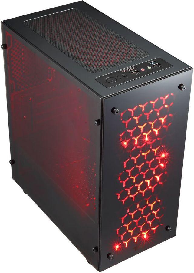 Компьютер  IRU Home 225,  AMD  Ryzen 5  1400,  DDR4 8Гб, 1000Гб,  NVIDIA GeForce GT1030 - 2048 Мб,  Free DOS,  черный [1101183]