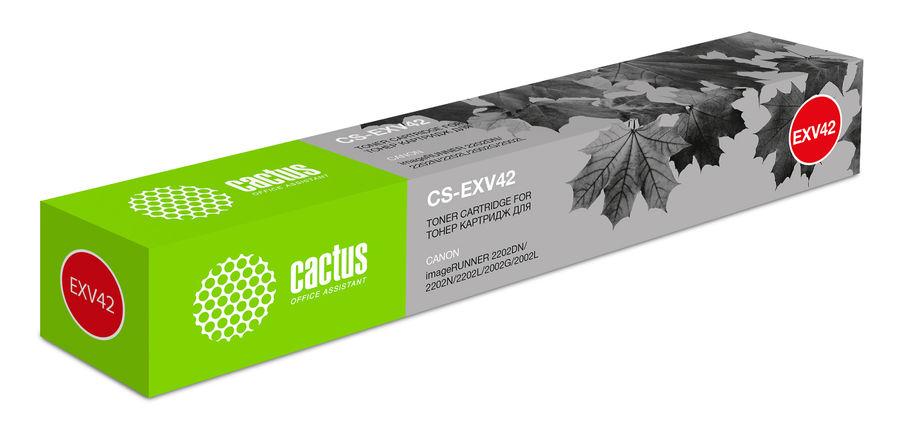 Картридж CACTUS CS-EXV42, черный