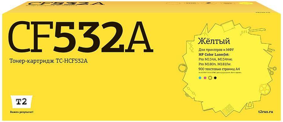 Картридж T2 TC-HCF532A желтый