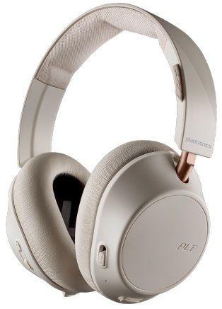 Наушники с микрофоном PLANTRONICS BackBeat Go 810, 3.5 мм/Bluetooth, мониторные, слоновая кость [211822-99]