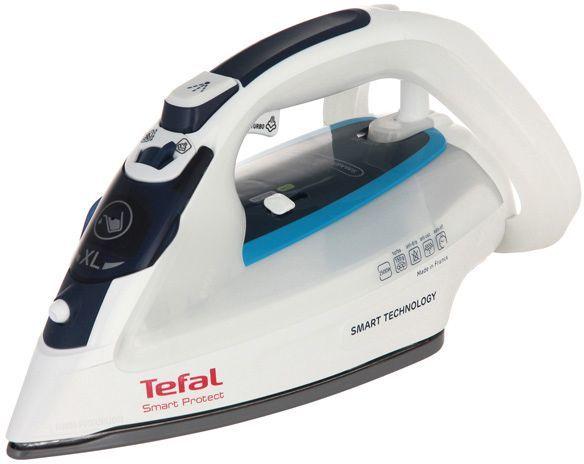 Утюг TEFAL FV4970E0,  2500Вт,  белый/ синий [1830005910]