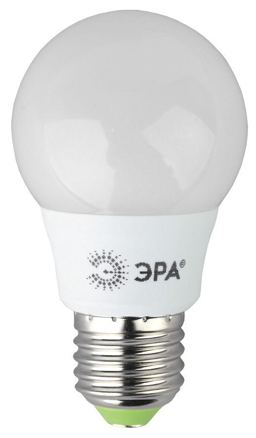 Лампа ЭРА A55-6W-840-E27, 6Вт, 480lm, 25000ч,  4000К, E27,  3 шт. [б0028007]