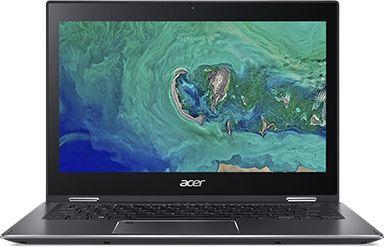 "Ноутбук-трансформер ACER Spin 5 SP513-53N-57K4, 13.3"",  IPS, Intel  Core i5  8250U 1.6ГГц, 8Гб, 256Гб SSD,  Intel UHD Graphics  620, Windows 10 Professional, NX.H62ER.003,  темно-серый"