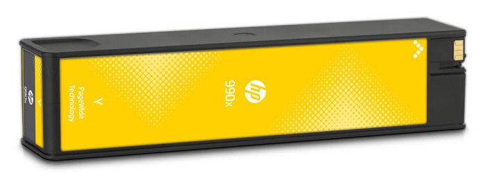 Картридж HP 911X, желтый [m0j98ae]
