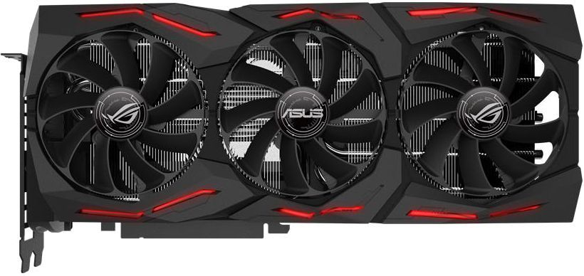 Видеокарта ASUS nVidia  GeForce RTX 2080 ,  ROG-STRIX-RTX2080-A8G-GAMING,  8Гб, GDDR6, Ret