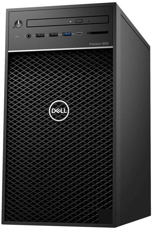 Рабочая станция  DELL Precision 3630,  Intel  Core i5  8500,  DDR4 8Гб, 1000Гб,  Intel UHD Graphics 630,  DVD-RW,  Windows 10 Professional,  черный [3630-5512]